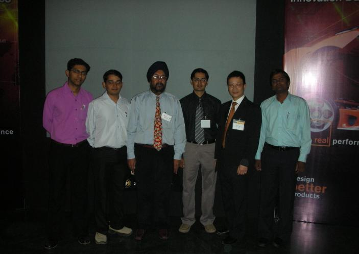 At SolidWorks Seminar
